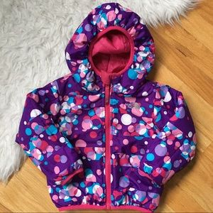 NorthFace Reversible Hooded Toddler Jacket